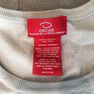 Oscar de la Renta Tops - Ivory shirt with lace